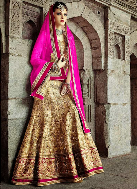 Buy Online Shoping Embellished Wedding Lehenga Choli