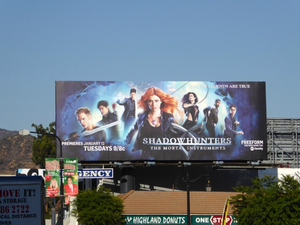 Shadowhunters Mortal Instruments season 1 billboard