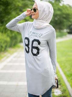 Tren terbaru model busana muslim remaja gaul masa kini trendy dan modis