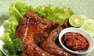 Ayam Bakar Khas Sumatera Selatan