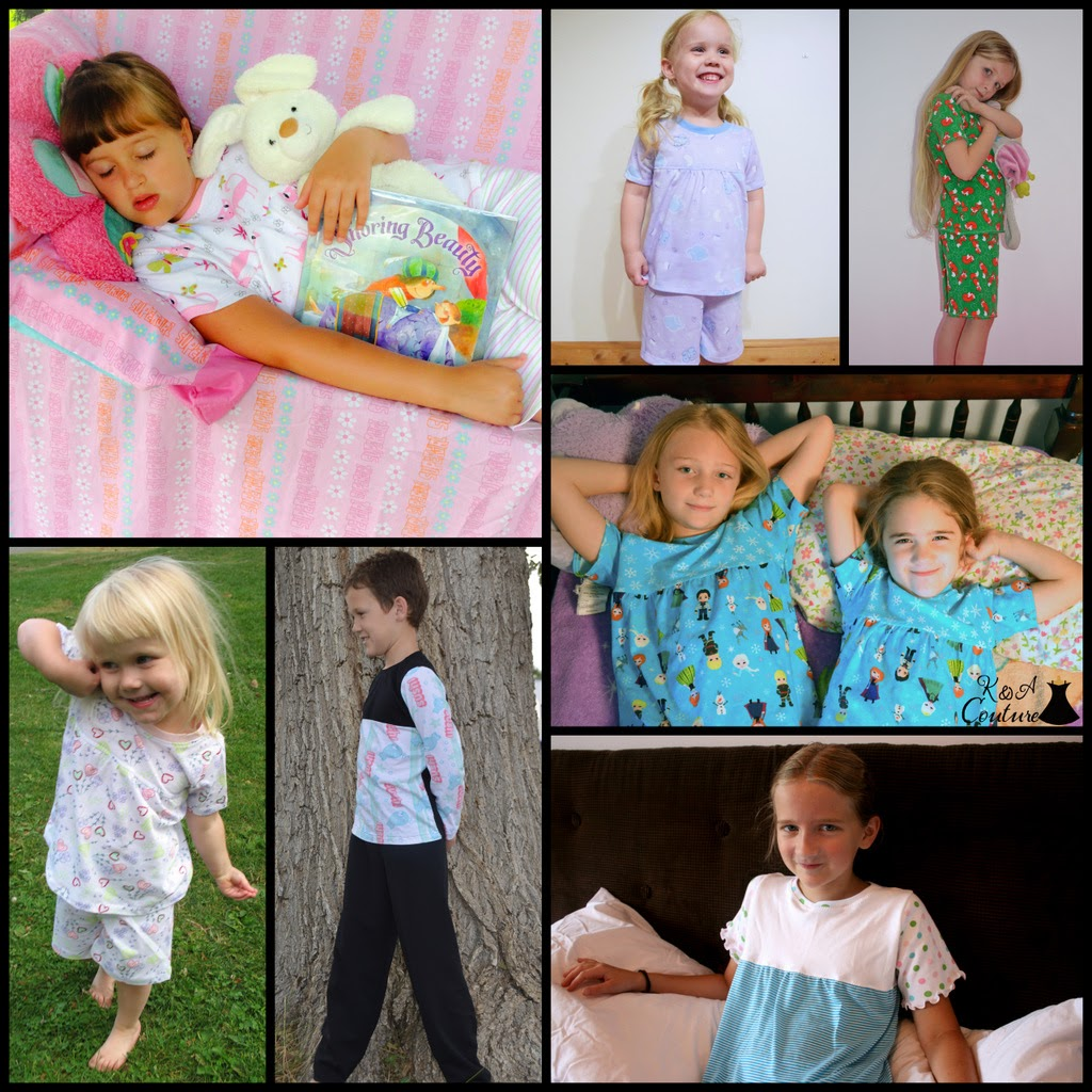 Jean & Jamey Jammie Pattern Release by GYCT designs