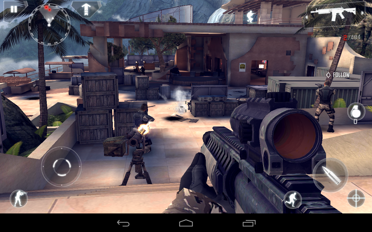 modern combat 4 highly compressed for you