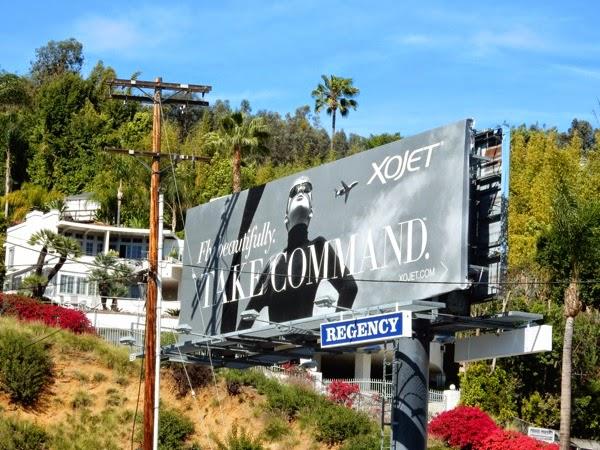 XOJet Take Command billboard