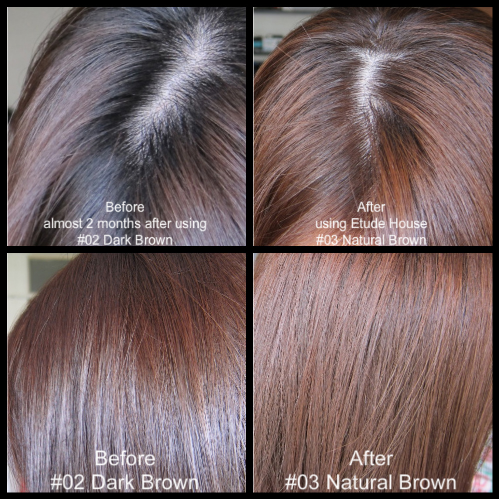 Etude House Bubble Hair Color Natural Brown Review
