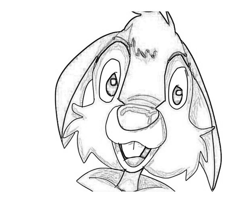 brer rabbit coloring pages - photo#15