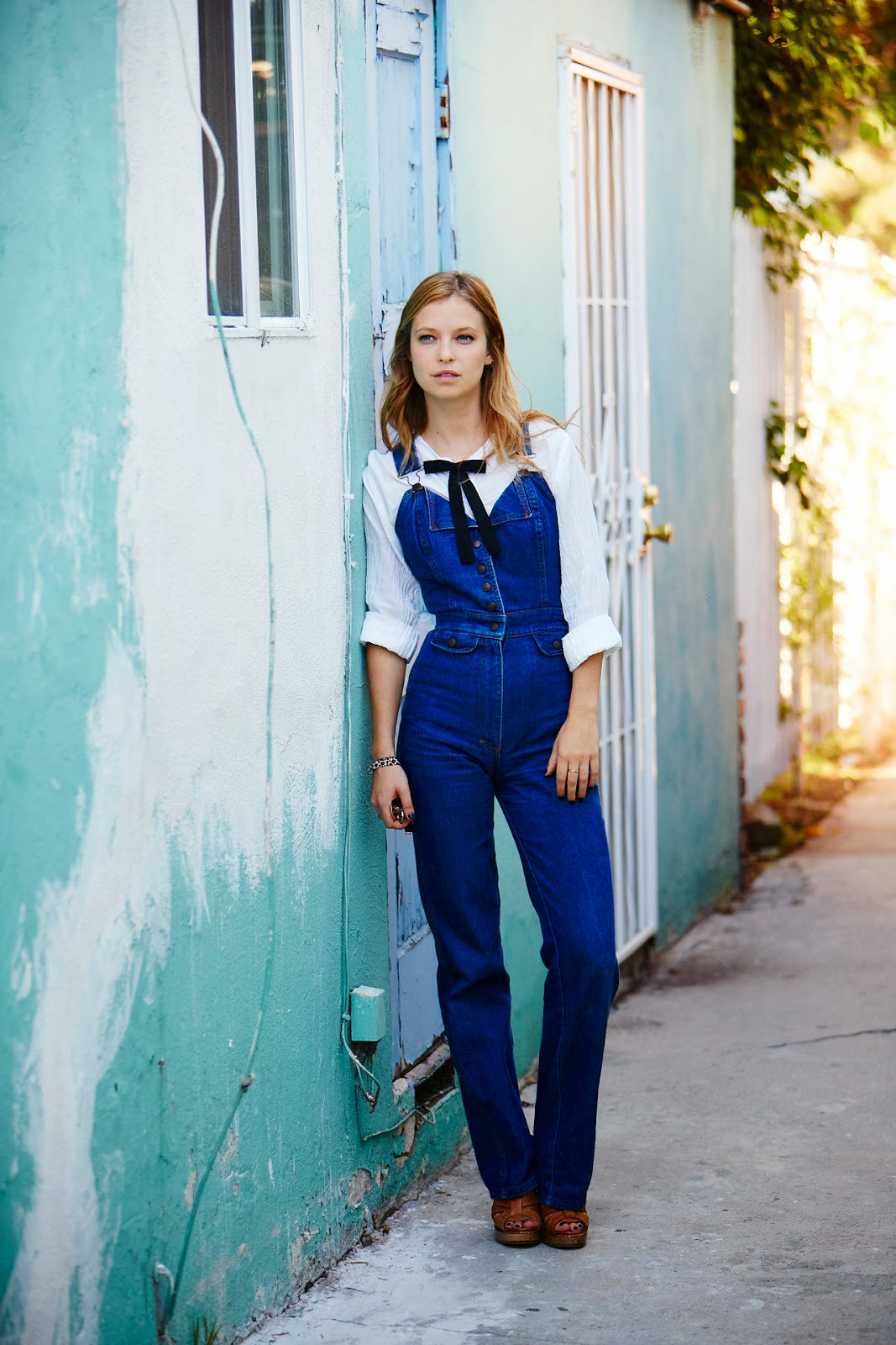 personal style post seventies overalls western fashion blogger