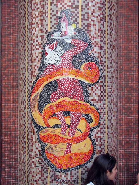 Mosaico Bitter Campari d'apr?s Leonetto Cappiello, Parigi
