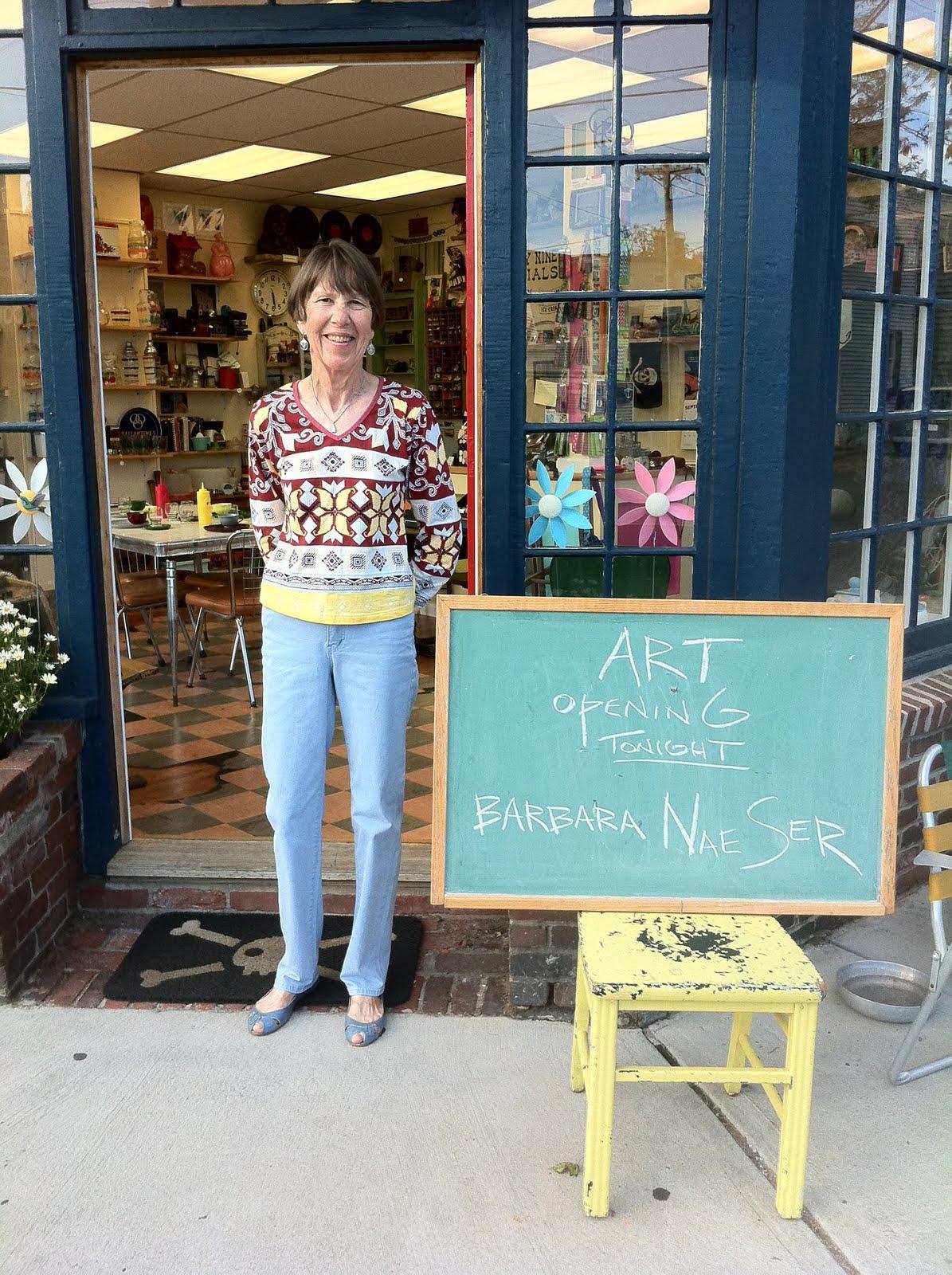 Lost & Found ~ Marblehead, MA: September Artist - Barbara Naeser Art ...