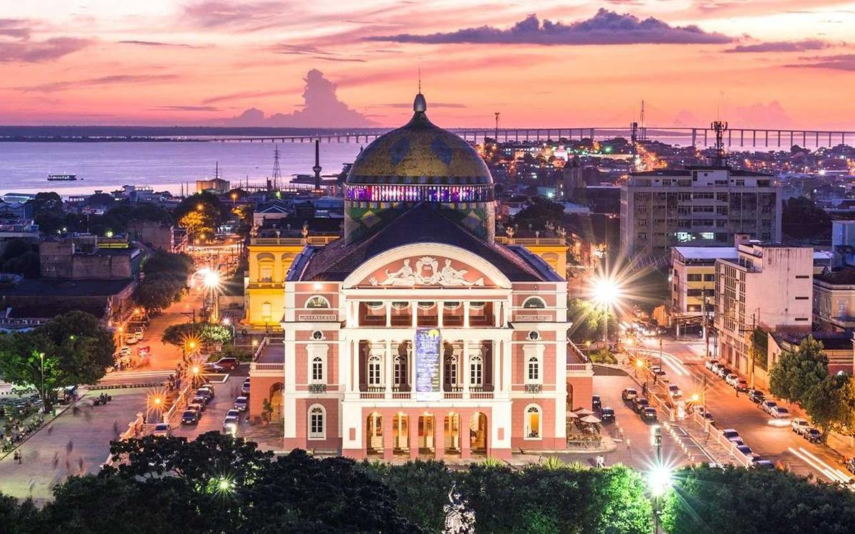 Teatro Amazonas em Manaus