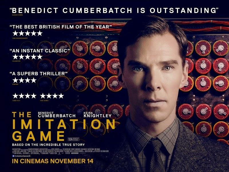 """cartaz do filme """"O jogo da imitação"""""""