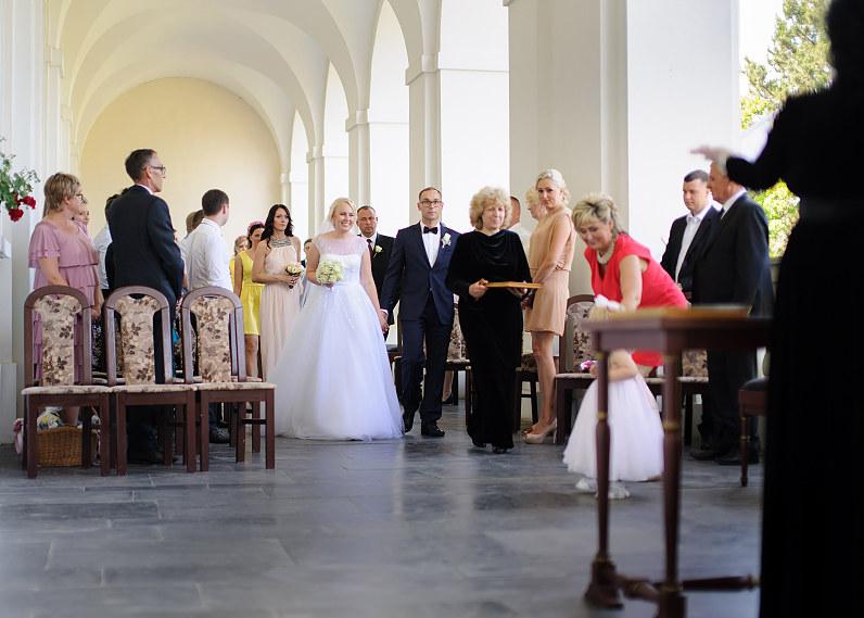 vestuvės Biržų pilyje