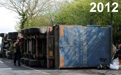 Lorry crash 2012
