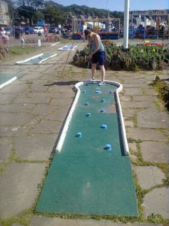 Crazy Golf in Millport on the Isle of Cumbrae