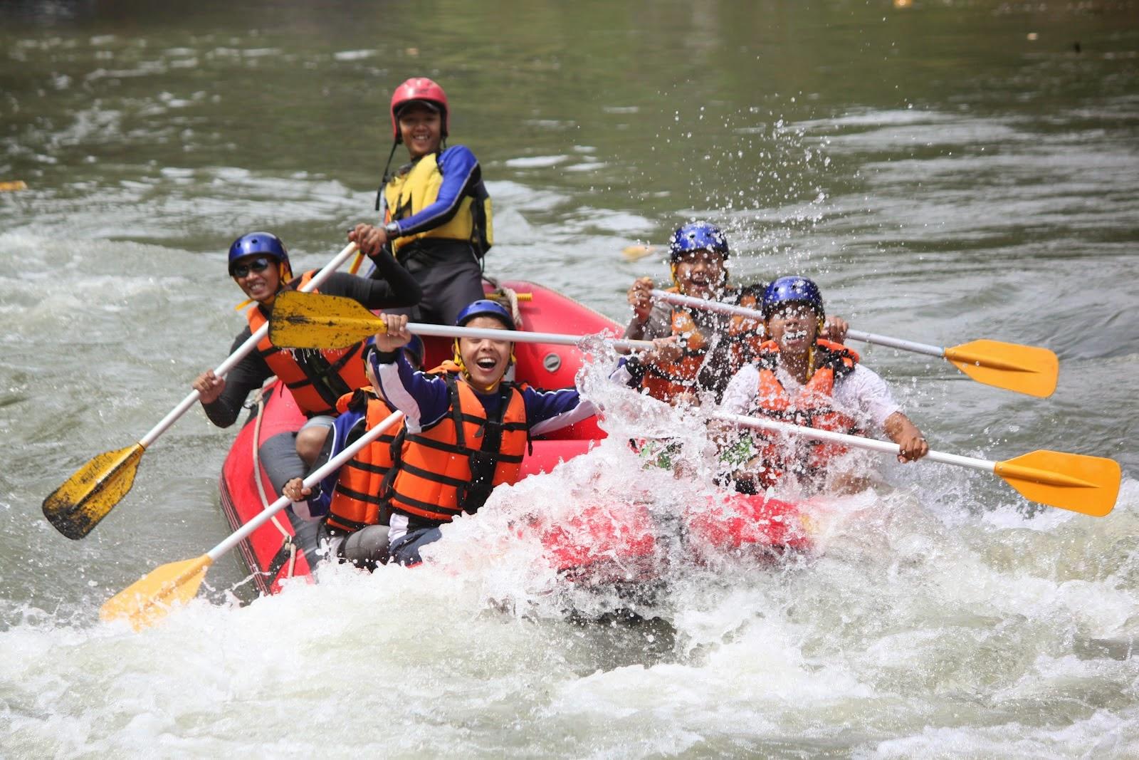 Rafting di Magelang