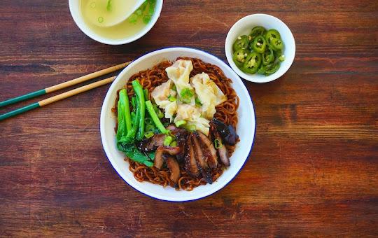 Seasaltwithfood: Wonton Noodles {Kon Lo Mee/Wantan Mee}