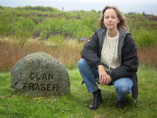 Lori at Clan Fraser Marker