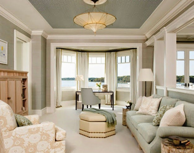 painting wall and ceiling different colors