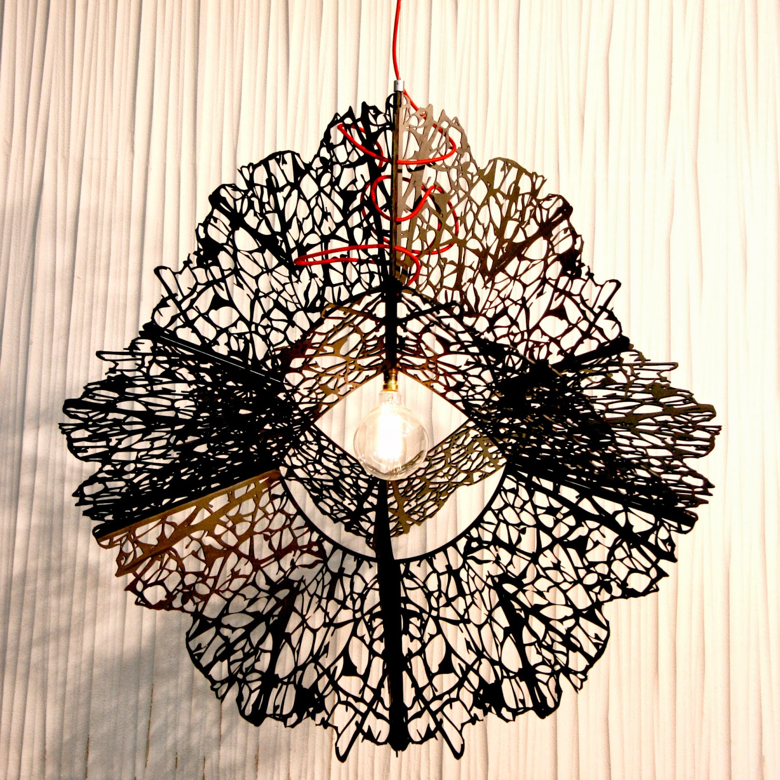 Lump Custom made Steel Pendant Light