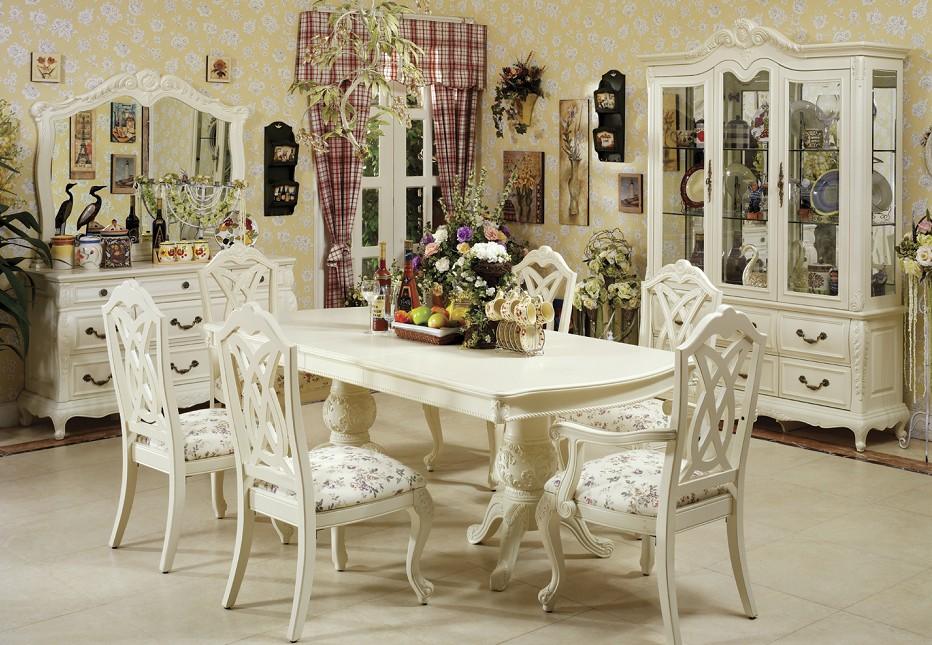 Fancy dining room design dream house experience for Fancy dining room sets