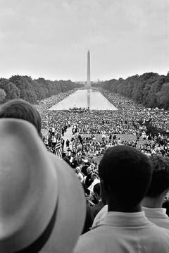 The 1963 March on Washington. Warren K. Leffler/US Library of Congress. Public domain.