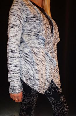 Gilet chiné gris mode automne 2013