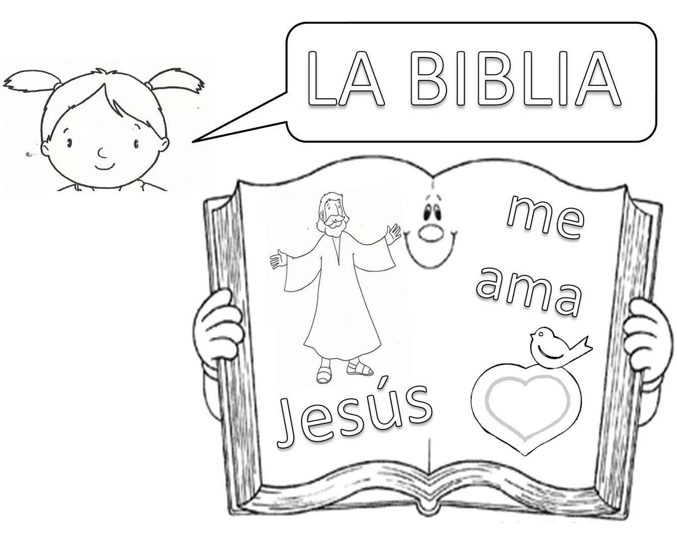 Excelente Biblia Para Colorear Jesús Fotos - Dibujos Para Colorear ...