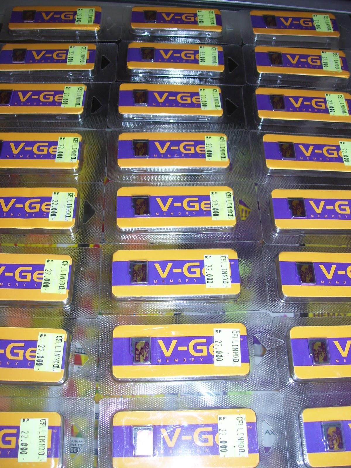 Kami menjual micro sd V-GEN packing non adapter. Kami siap kirim ...