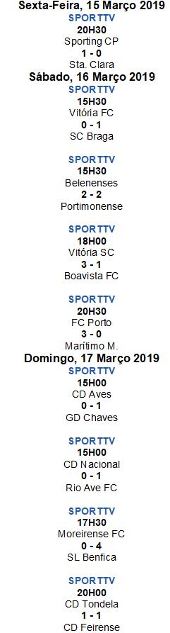 Liga Nós 2018-2019 26ºJornada