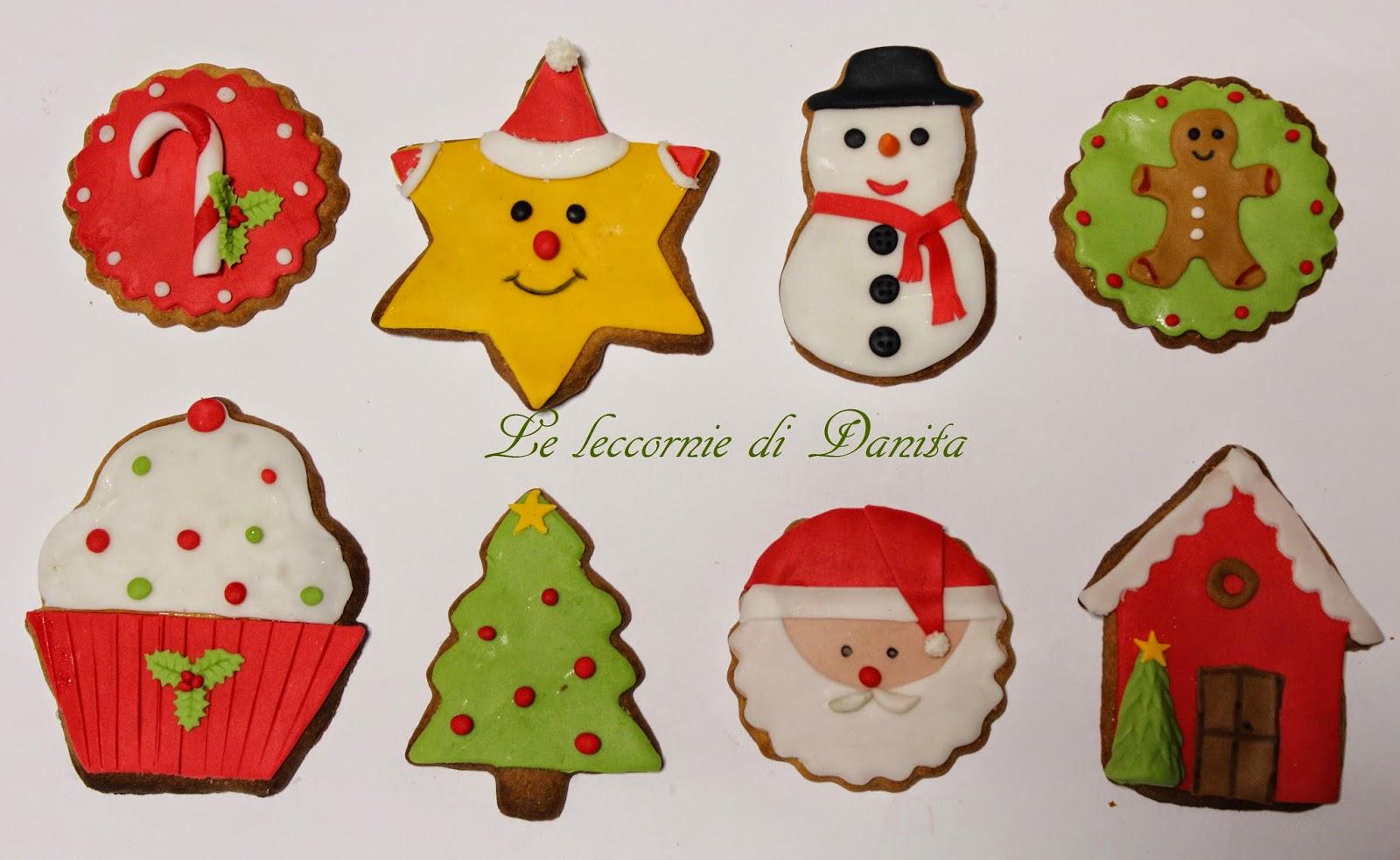 biscotti di natale in pan di zenzero (gingerbread)