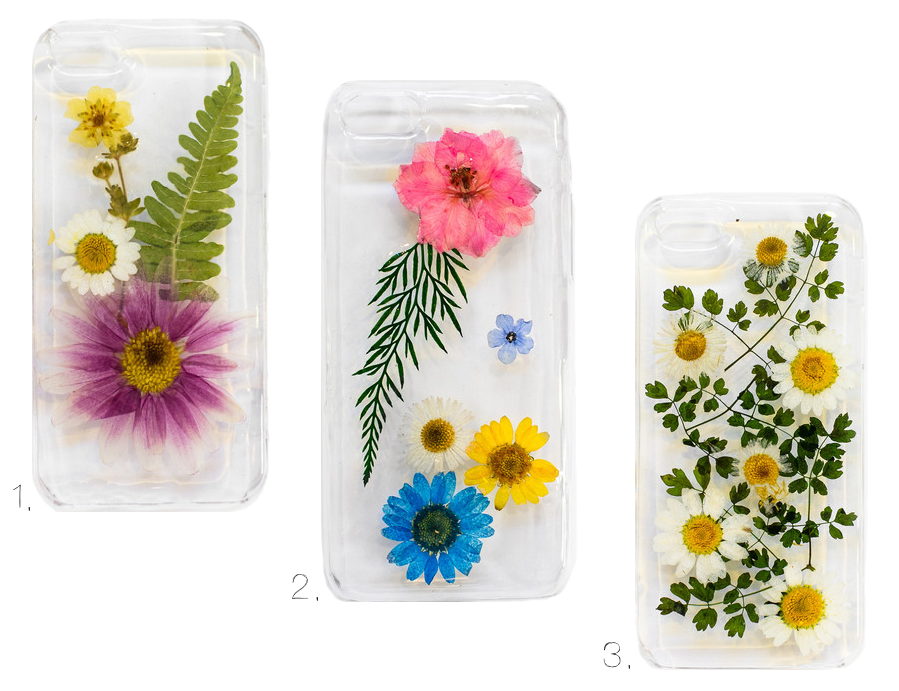 Pressed Flower Phone Cases