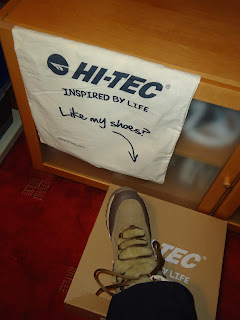 My New Snow boots from Hi-Tec