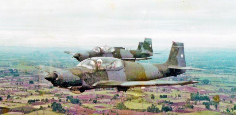 T-25/N-621 en Chile, IVAN SIMINIC OSSIO