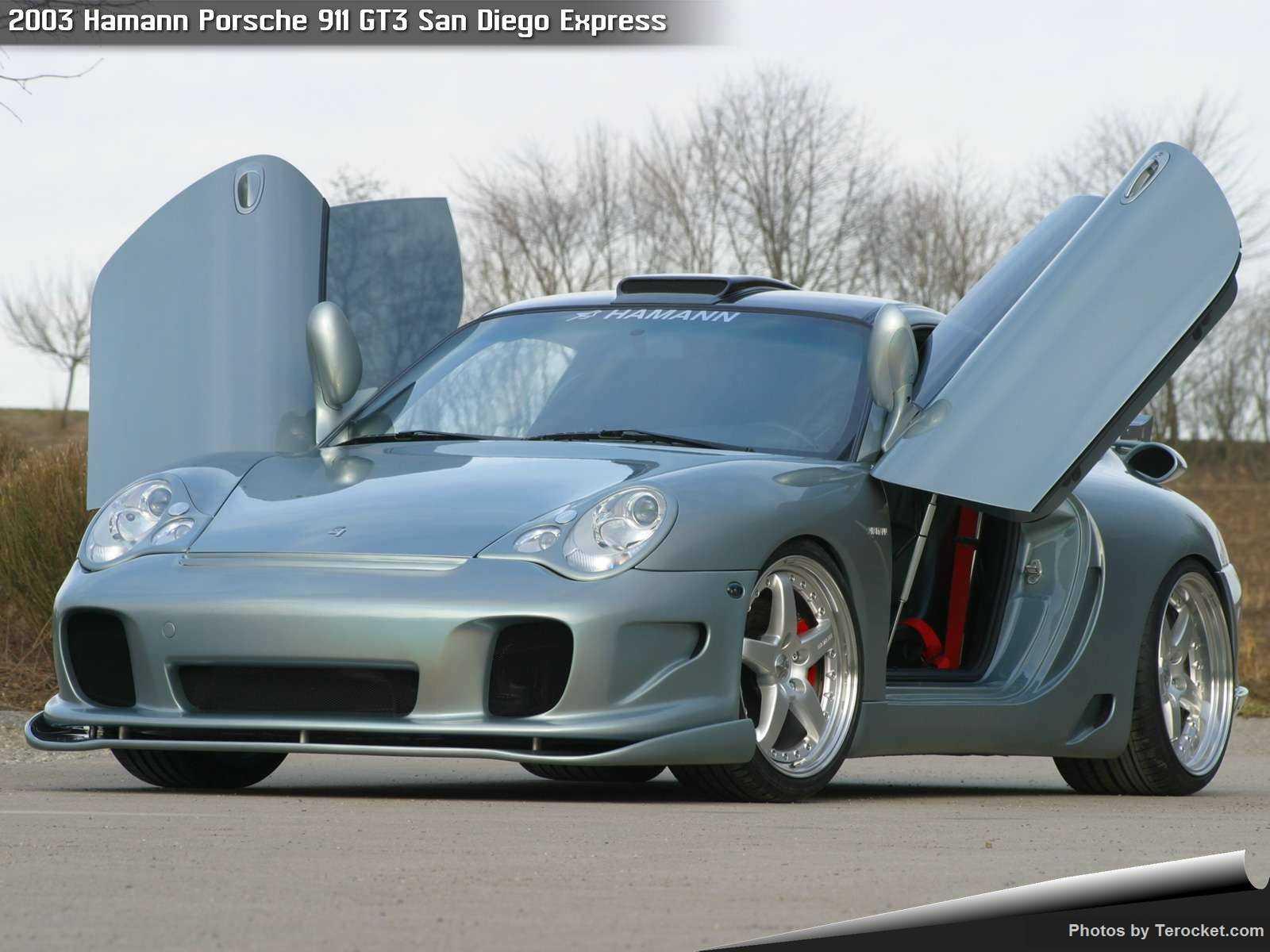 Hình ảnh xe ô tô Hamann Porsche 911 GT3 San Diego Express 2003 & nội ngoại thất