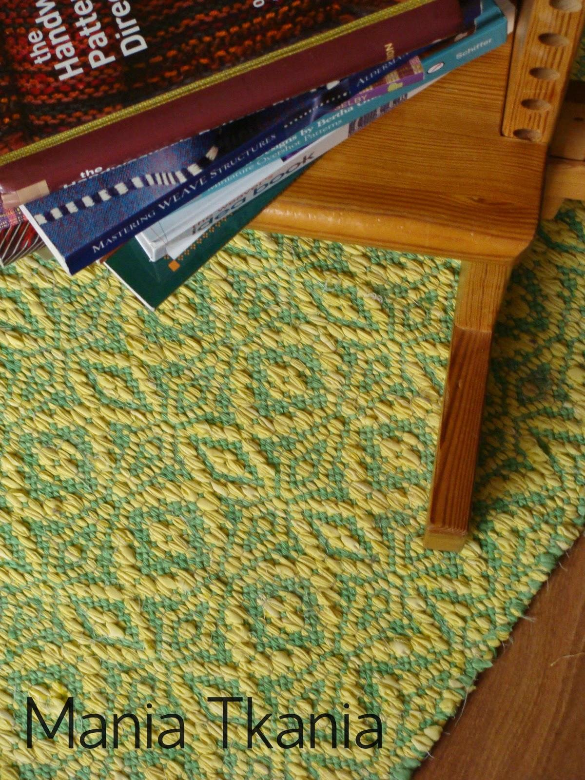 ręcznie tkane dywaniki / rag rugs