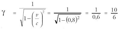 persamaan konstanta dilatasi waktu