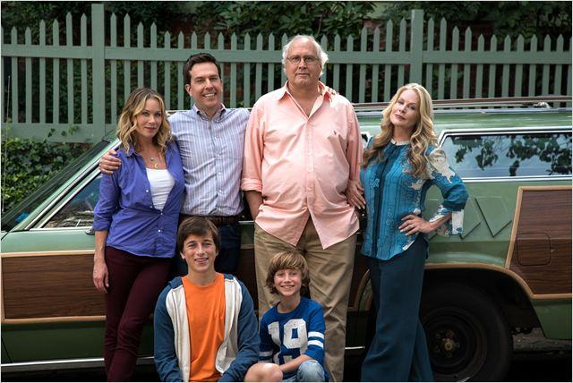 """Familia Grisworld de la película """"Vacaciones"""""""