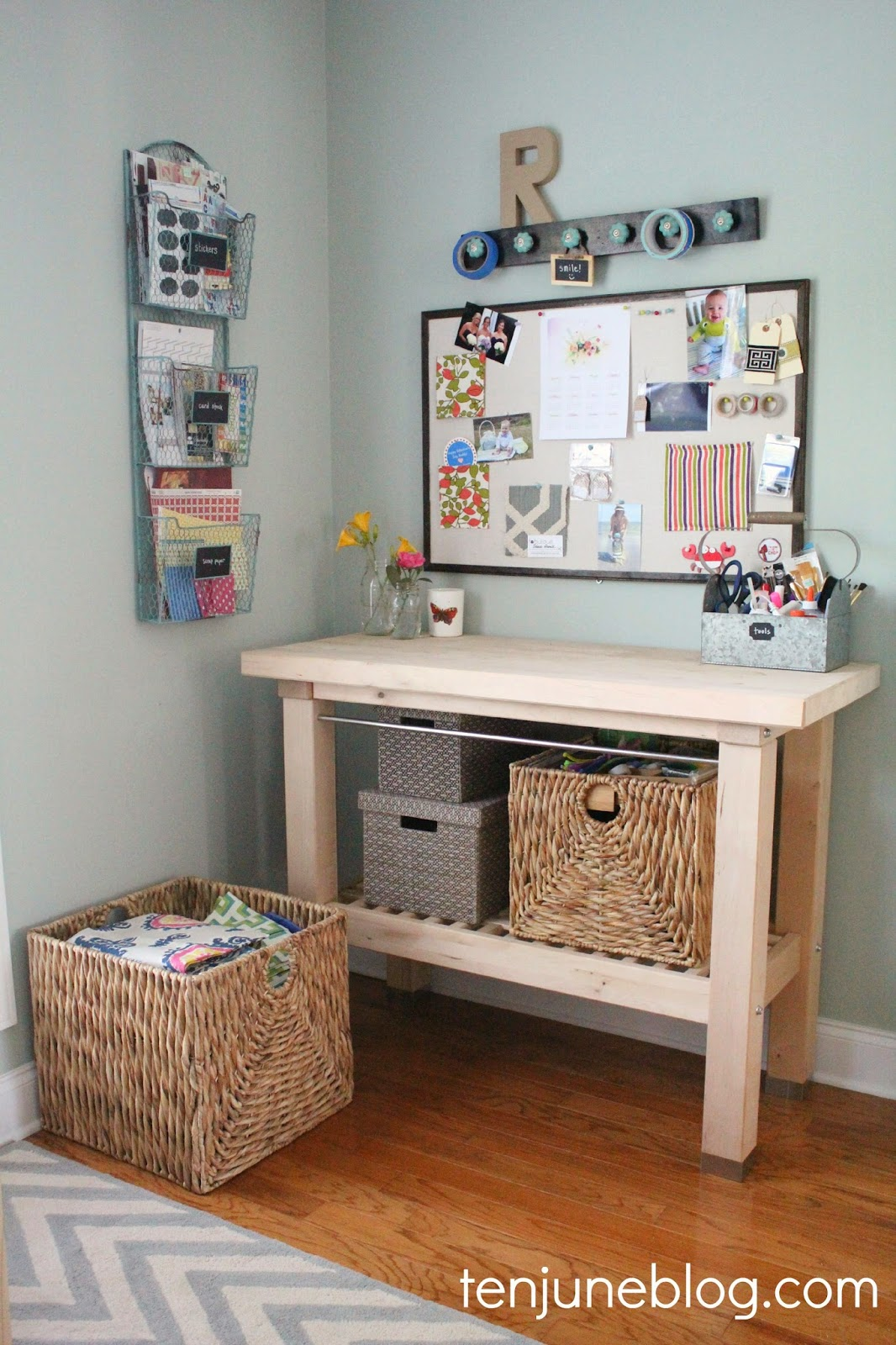 Nice Want to create a pretty craft space like my craft nook makeover that I shared yesterday Even better want to do it on HomeGoods u dime Oh heck yes