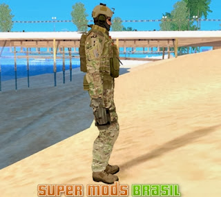 [Mod GTA SA] Skin Soldado - Seal Team 6 From 3
