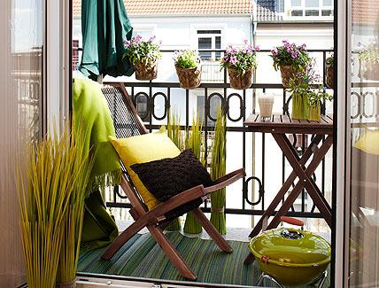 Evim İçin Herşey : Balkon Dekorasyon Önerileri