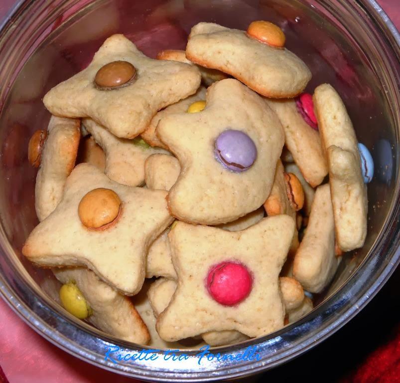 biscotti alla panna e smarties