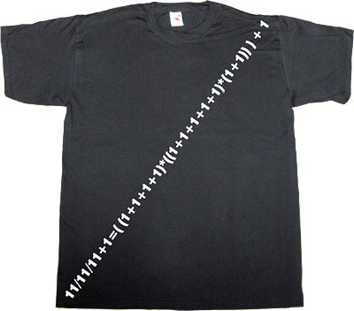 anniversary birthday autobombing math t-shirt ephemeral-t-shirts