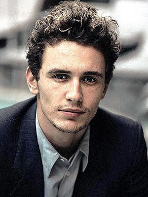 then boyfriend but otherwise known as Actor/Sex Bomb James Franco.