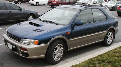 Subaru Outback Sport, Subaru SVX punto es