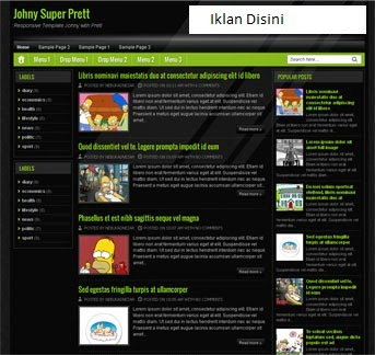 Download 2 Template Blogger Keren Edited By I Komang Gede Yuliana
