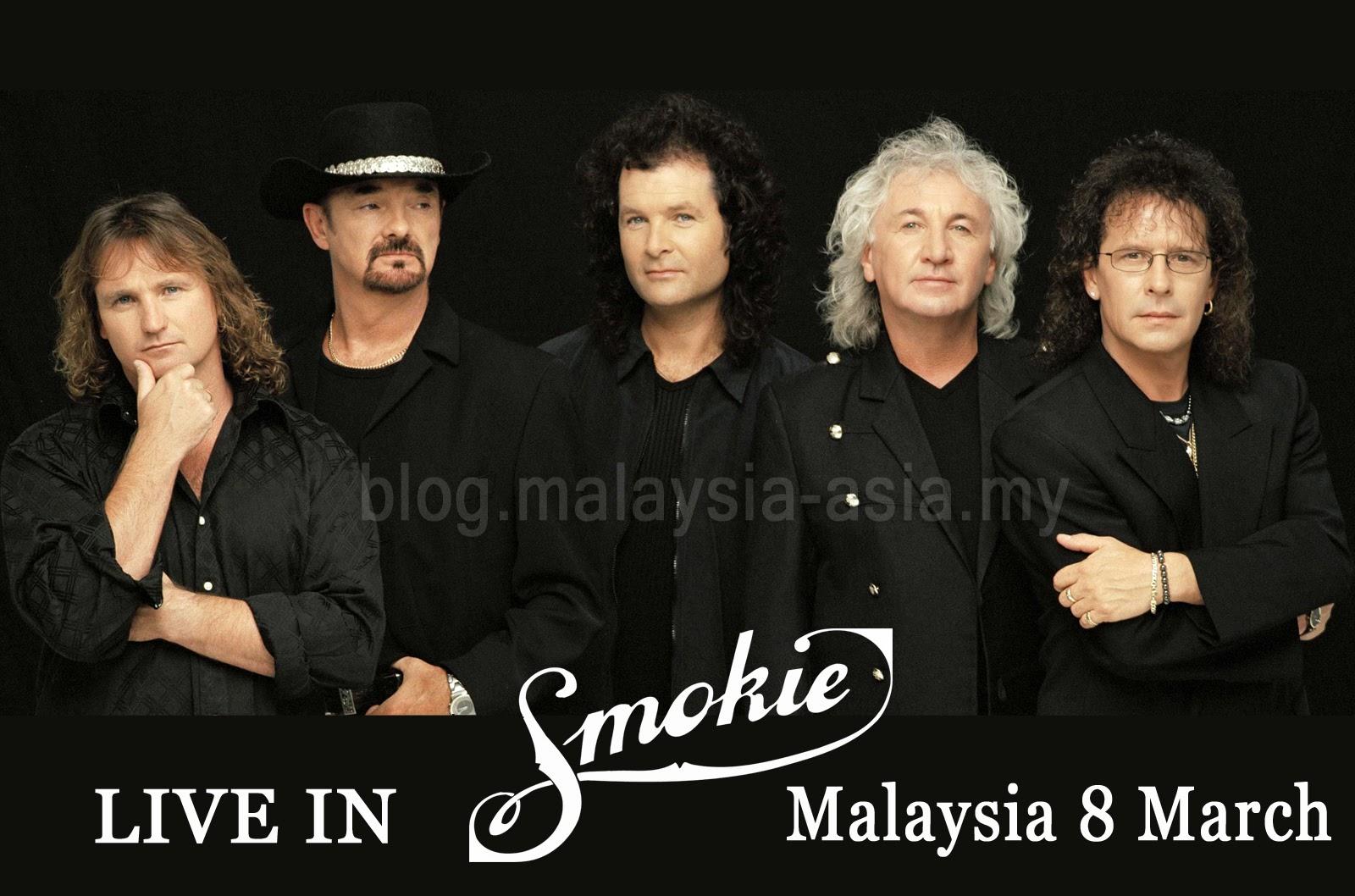 Smokie Live Malaysia 2015