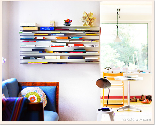 Psynopsis Interior Design Horizontal Book Shelf