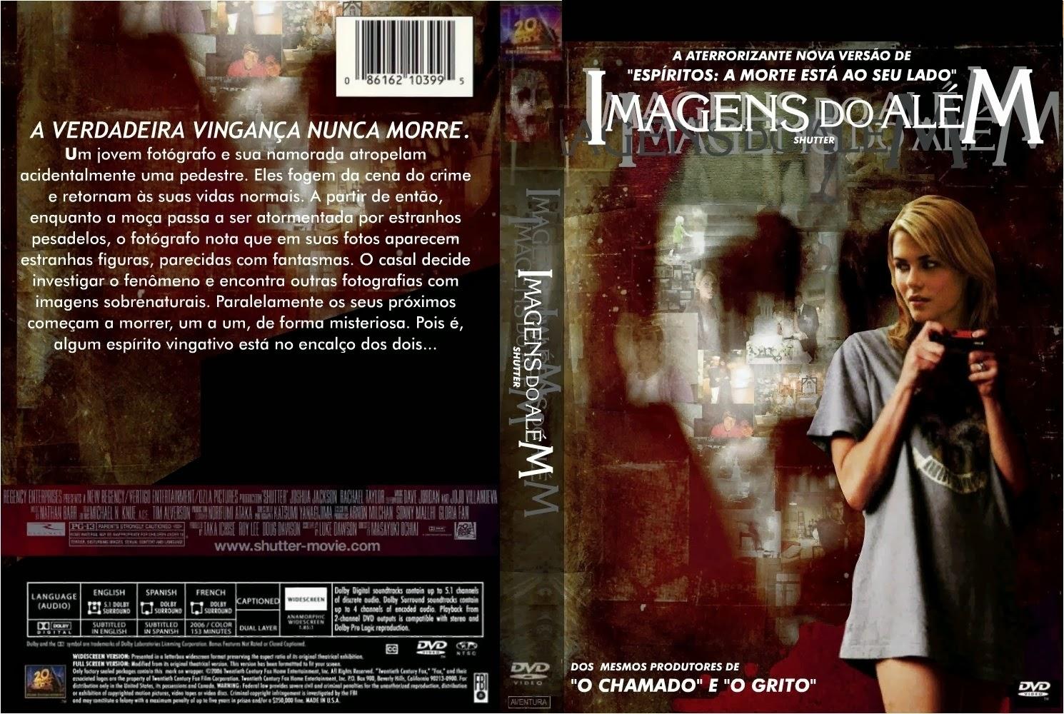 Imagens do Além DVD Capa