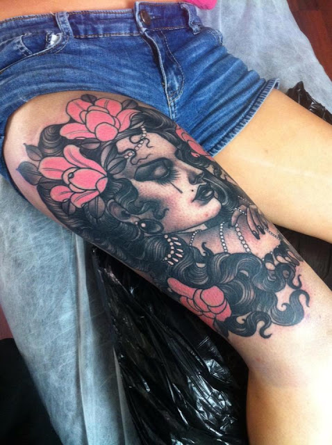 Tatuaje mujer española