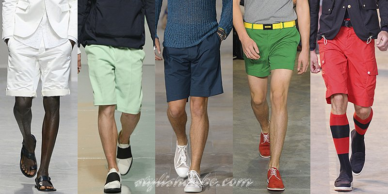 Spring Summer Men's Shorts Trends 2013