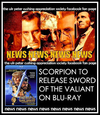 NEWS! SCORPION FILMS TO RELEASE CUSHING GUEST WITH SEAN CONNERY AND MILES 0'KEEFE BLU RAY!